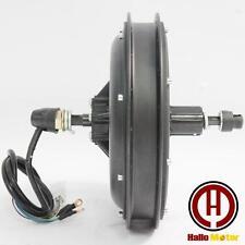 36V/48V 750W Brushless Gearless Cassette Hub Motor Rear Wheel Electric Bike