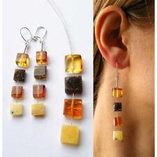 Bernsteinohrringe, Hängeohrringe, Bernstein, Amber earrings, Silber 925, NEU