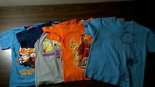 Lot of 4 Youth Assorted Cartoon Character T-Shirts Size XSmall