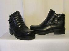 boots/botines new rock cuir noir 36