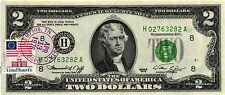 1976 $2.00 Federal Reserve Note - P. O. Cancelled Memphis, TN  04/13/1976  CH CU