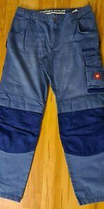 Engelbert Strauss Worker-Jeans Arbeitshose Bundhose Gr:52 Flex - Bund
