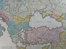 IMPERII et ORIENTALIS / DAS OSMANISCHE REICH Kupferstich 1742 G DELISLE /Mortier