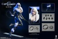 VERYCOOL 1/6 Catwoman Set Fit Female Action Figure Model In Stock Collection DIY