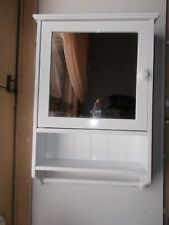 "Croydex "" Hamble"" Traditional Style Bathroom Cabinet With Shelf  And Towel Rail"