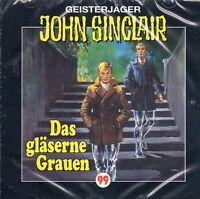 JOHN SINCLAIR - Teil 99 Das Gläserne Grauen AUDIO CD - NEU OVP