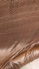 """Fancy Copper 58""""  With  Pleated Looking Design ,FABRIC ,fabric By The Yard bolt"""