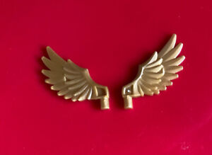 Lego Elves angel Pearl Gold Feathered Wing Part 11100 for Minifigure x2