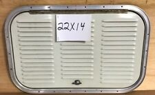22 x 14 vented HATCH BAGGAGE CARGO COMPARTMENT DOOR ,TRAILER, CARGO ,BOAT ,SHED