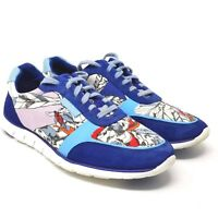 Cole Haan Womens Blue Zerogrand Classic Trainer Sneaker W01947 Floral Flower 7.5
