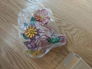 Urban Outfitter UO Bright Botanical Curtain Tie Back Floral Flower Wall 18647883