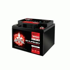 Shuriken BT45 Compact 12V Car Audio Cell Battery AGM 1250W 45A T6