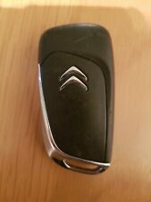 CITROEN 3 BUTTON REMOTE KEY FOB IN WORKING ORDER REF 300