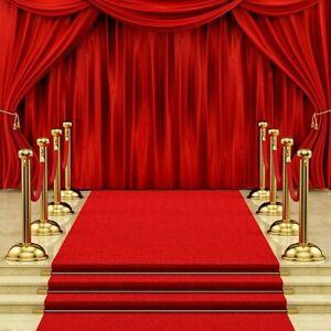 4x17FT Red Carpet Hollywood Awards Wedding Party Aisle Floor Runner  B1 S1 ME