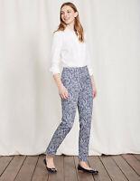 Boden Hose - Al Fresco 7/8 Pants - Damenhose Sommer Muster NEU - UK 10 EU 36/38