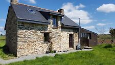 French Stone Cottage House Morbihan Brittany St Martin sur Oust 56200