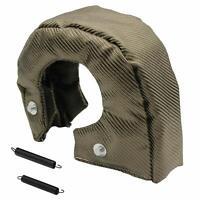 T3 Titanium Lava Fiber Turbo Blanket Heat Shield Barrier Turbocharger Cover Wrap