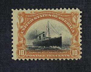 CKStamps: US Stamps Collection Scott#299 10c Mint H OG Tiny Thin CV$115