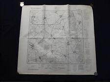 Landkarte Meßtischblatt 3350 Möglin, Harnekop, Batzlow, Ihlow, Grunow, 1945