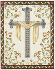 His Cross Religious Christianity Counted Cross Stitch Kit