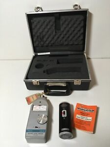 SIMPSON S2A 884 Sound Level Meter With 890 Acoustical Calibrator, Case