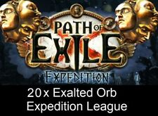 20 x Exalted Orb | Expedition League Softcore PC | PoE | Path of Exile