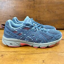 Asics Gel Venture 6 Womens Running Hiking Trail Shoes Size 10 Steel Blue/Pink