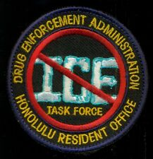 DEA Honolulu Hawaii Resident Office ICE Task Force Crystal Meth Patch CT3