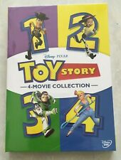 Toy Story I Ii Iii & Iv Dvd 1234 1-4 Complete Collection Movie (Dvd 6 Disc Set)