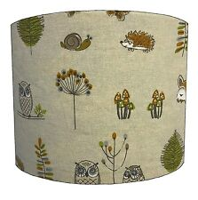 Lampshades Ideal To Match Woodland Creatures Duvets, Woodland Creatures Cushions