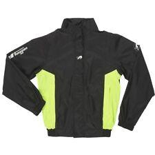 FURYGAN NEPTUN VESTE Motorcycle/Scooter Waterproof Rain Over Jacket Black/Yellow