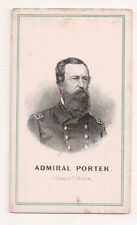 Vintage CDV David Dixon Porter United States Navy Admiral Civil War