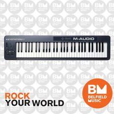 M-Audio Keystation 61 Note Semi Weighted USB Controller Midi Keyboard -Brand New