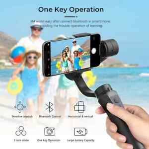 Gimbal H4 3 Axis USB Charging Video Record Support Universal Adjustable Directio