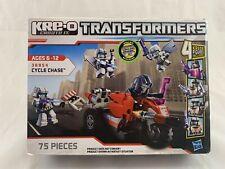 Cycle Chase Kre-O 36954 Barricade 75 pcs Transformers Hasbro 2012 New Sealed