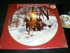 The STATLER Brothers Christmas Card LP MERCURY 1978 Holiday Country In Shrinkwrp