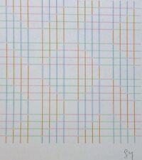 Shizuko Yoshikawa 吉川 静子 Variation I HAND SIGNED 1985 LITHOGRAPH Japanese/Swiss