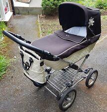 Silver Cross Sleepover Elegance Cream/Black Pushchairs Single Seat Stroller