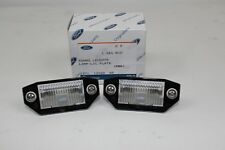 Genuine Number Plate Lighting 2 PCS FORD MONDEO 10/2000-2/2007 MK3 1341810 2X