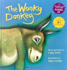 The Wonky Donkey by Craig Smith - full size paperback book + CD -Registered Post
