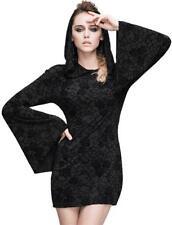 Vestiti da donna neri con cappuccio