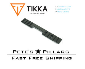 DIP DiProducts Sako Tikka T1X Scope Rail Base Mount Aluminum TIK17001