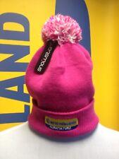 NEW HOLLAND BOBBLE HAT - PINK LADIES