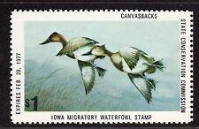 $US State Duck stamp Iowa Sc#5 M/NH/VF, Cv. $25