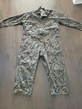 Vintage 1980s-90s Mossy Oak Camouflage Camo Coveralls Sz 3X