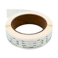 1 Roll 1x2'' Self-Adhesive Sticker Removable Freezer Food Storage Labels Sticker