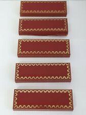 5 Must de Cartier Pen Boxes.