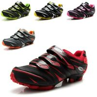 Mountain Cycling Shoes Men's Bike Bicycle Sneakers Self-Lock Trainers SPD Cleats