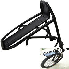 Aluminum Bicycle Front Rack Carrier Bike Luggage Cargo Rack Panniers Bag Shelf