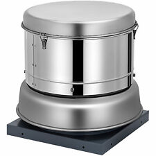 "Restaurant Hood Down-blast Exhaust Fan 2400 cfm 12.59"" Blade 24.80"" Base"